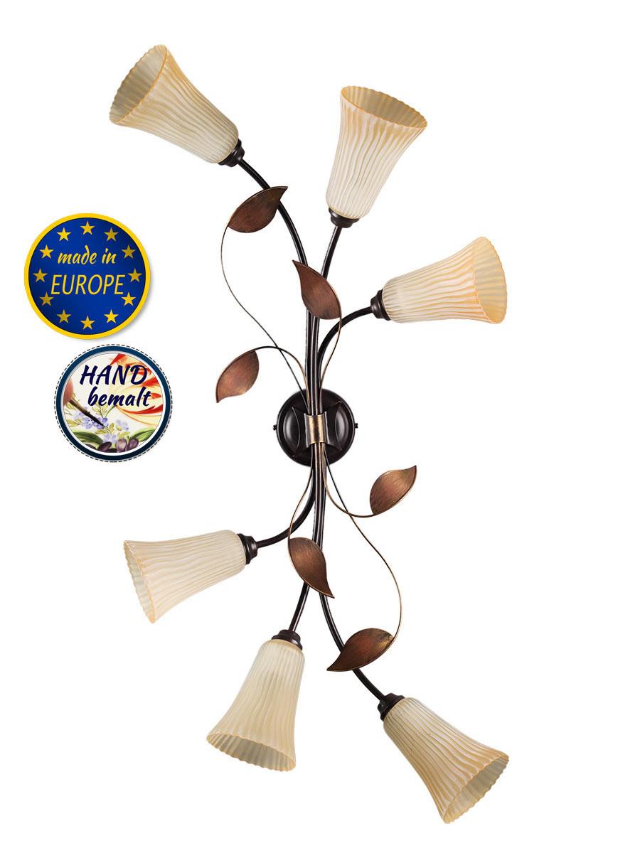 103622 florale deckenlampe top preis qualit t helios. Black Bedroom Furniture Sets. Home Design Ideas
