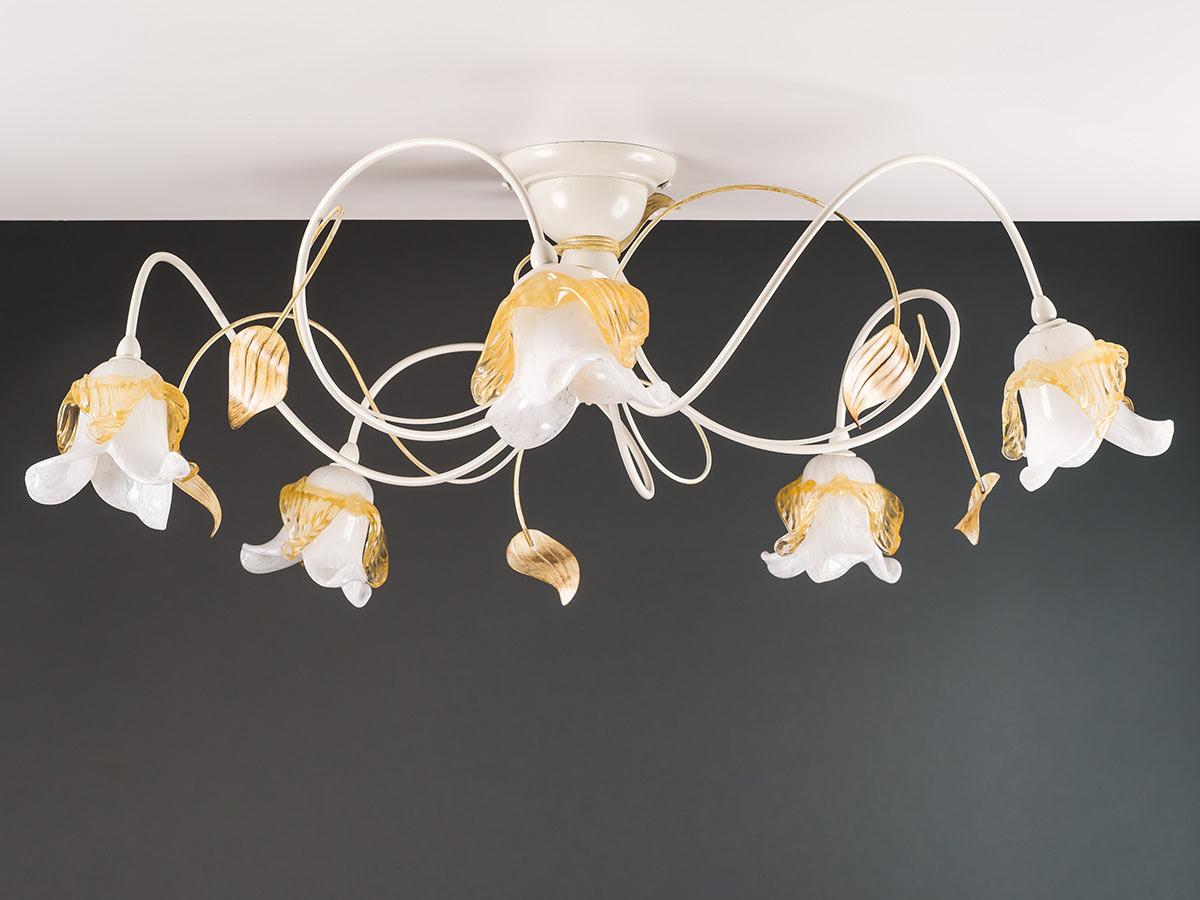 Deckenleuchte 103692 Florentiner elfenbein-farbig | Serie 3.69 ''Magnolia''