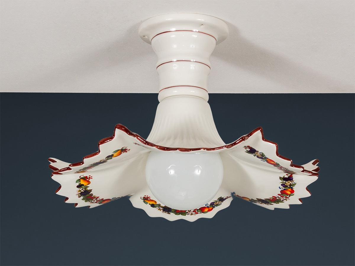 Deckenleuchte 107151 Keramik bunt dekoriert Serie 7.15 ''Früchtchen''