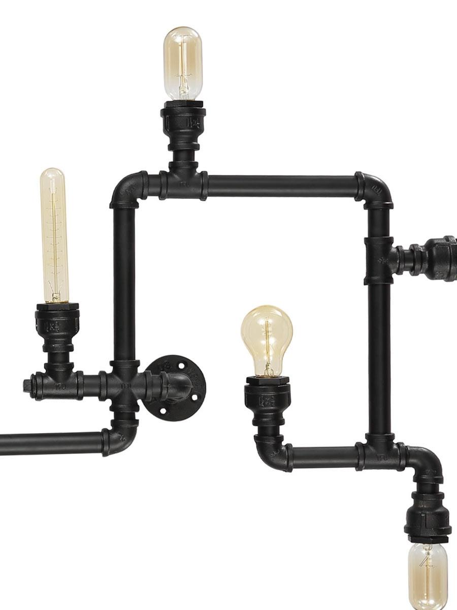 vintage deckenleuchte ideal lux plumber pl8. Black Bedroom Furniture Sets. Home Design Ideas