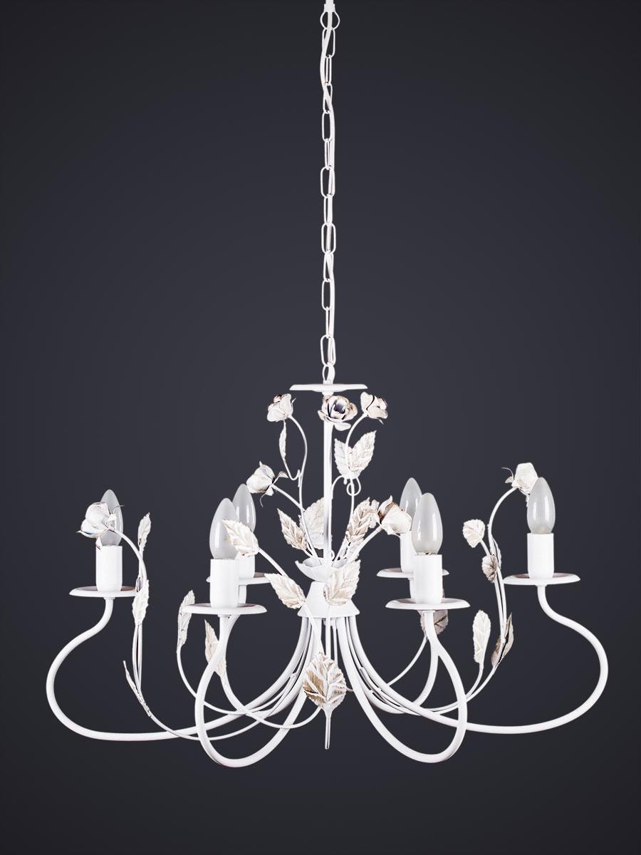 Pendelleuchte 203145 Florentiner-Stil weiss | Serie 3.14 ''Santorin''