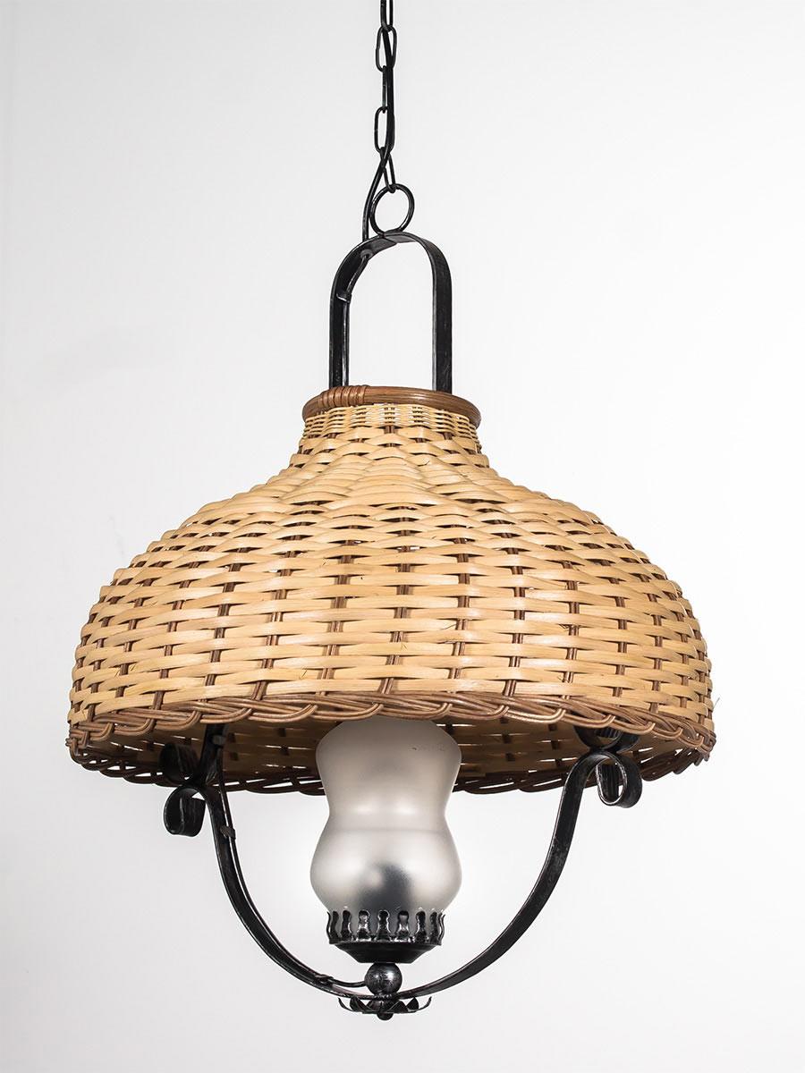 helios leuchten 205407 rustikale handwerklich gefertigte pendelleuchte pendellampe lampe leuchte. Black Bedroom Furniture Sets. Home Design Ideas