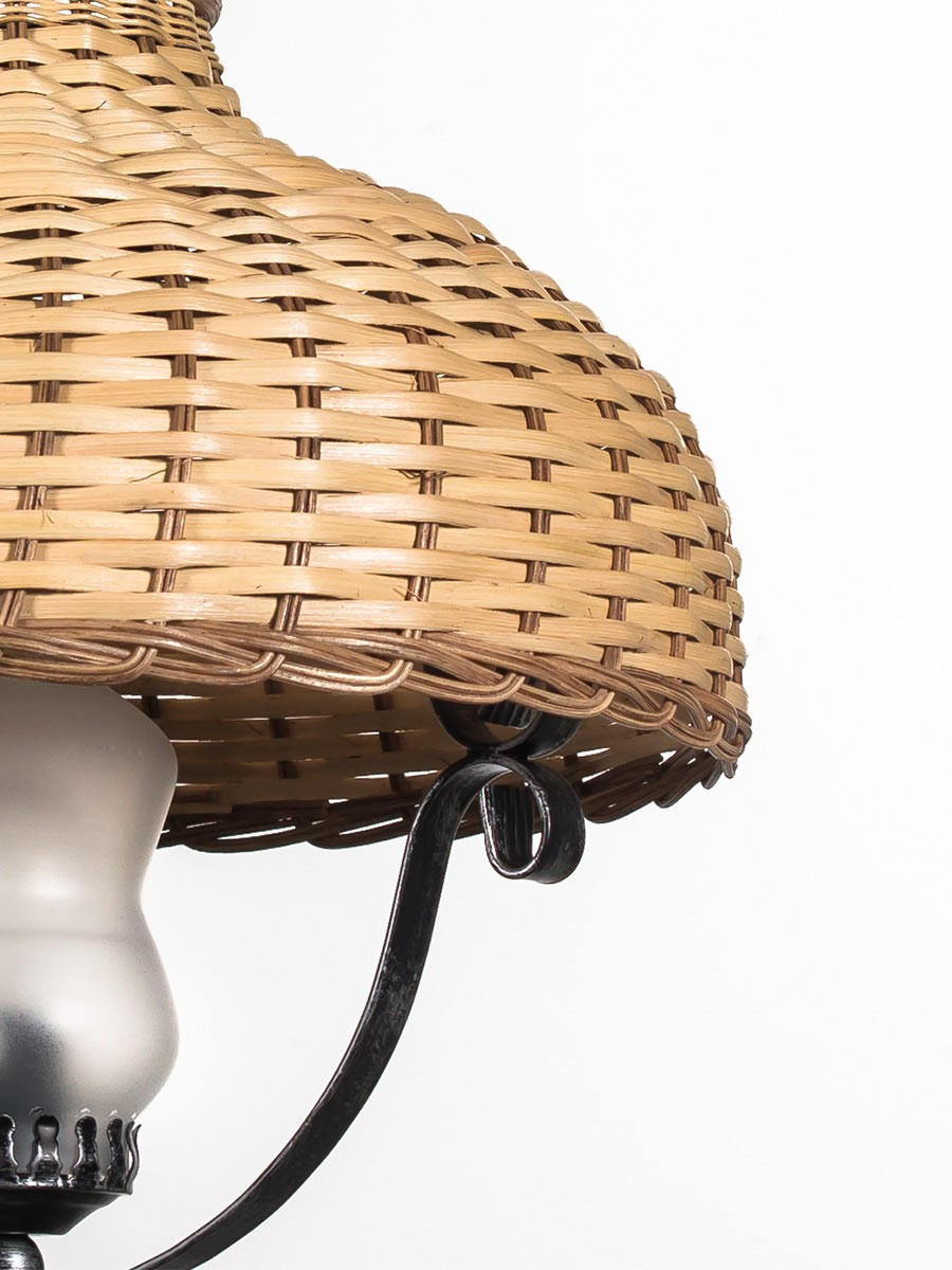 helios leuchten 205407 rustikale handwerklich gefertigte. Black Bedroom Furniture Sets. Home Design Ideas