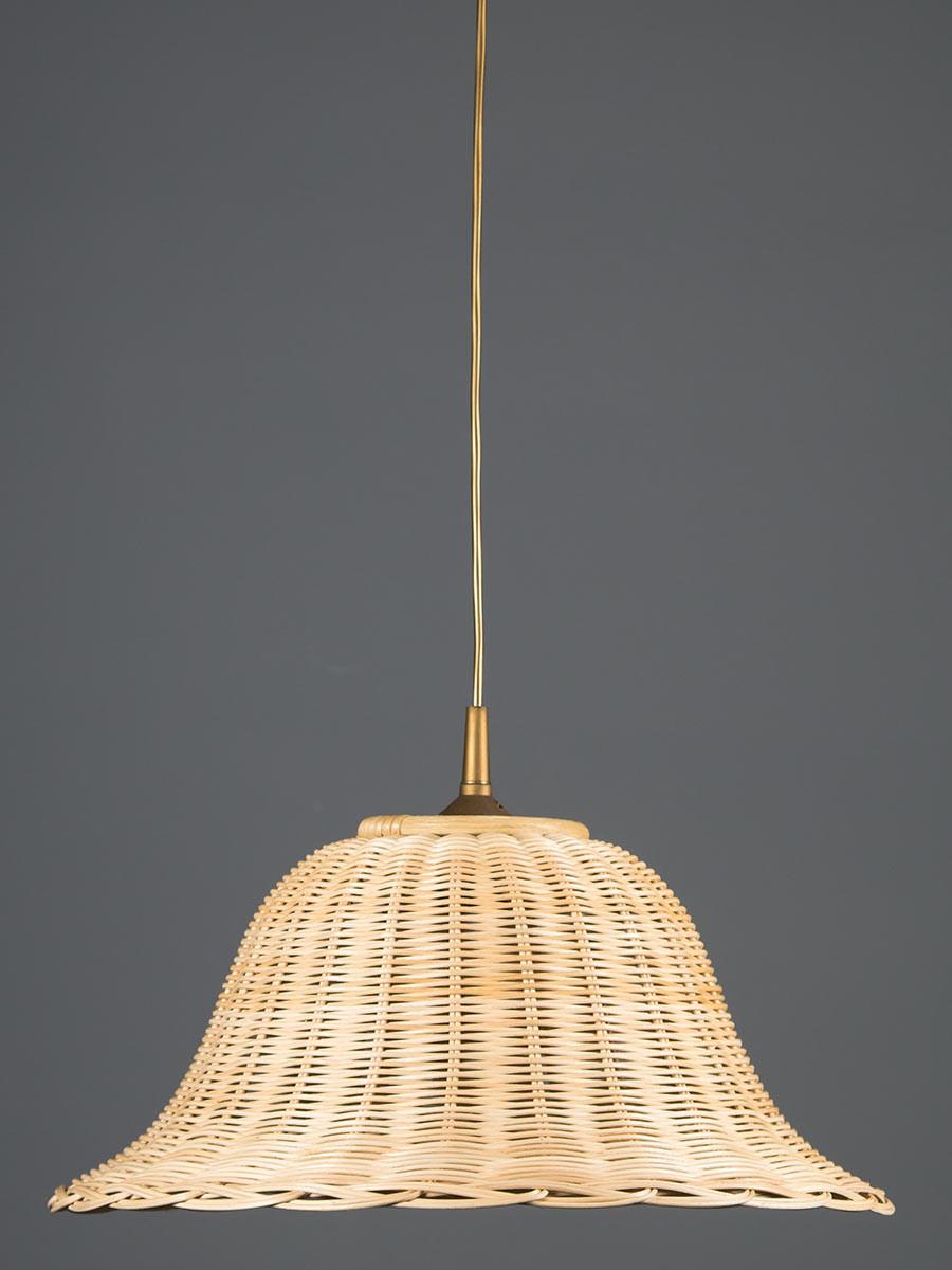 Pendelleuchte 212056 Korbgeflecht natur-farbig Serie 2.05 ''Lichtenfels''