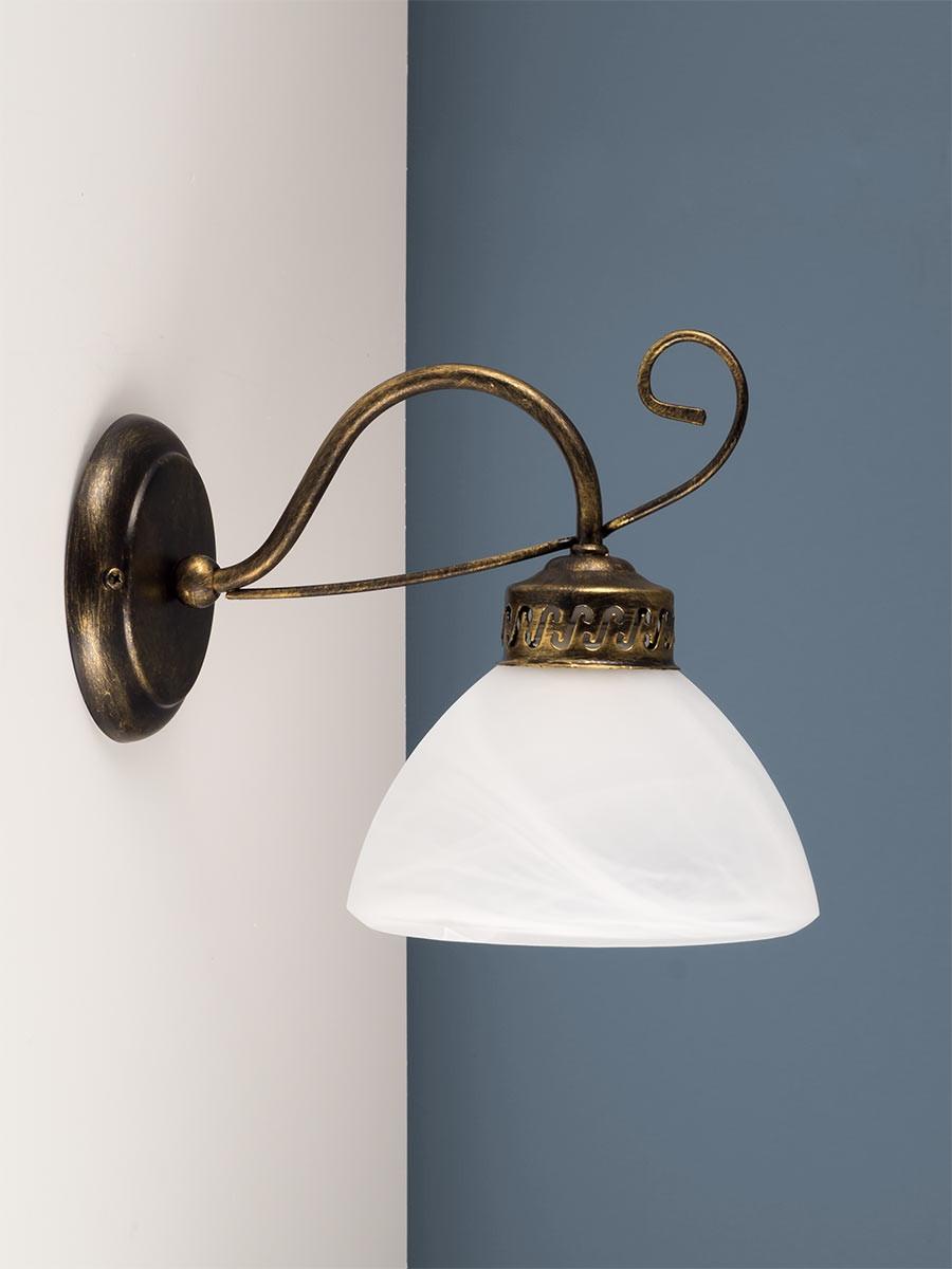 303175 wandlampe landhaus zeitlos im trend helios leuchten - Wandleuchte landhaus ...