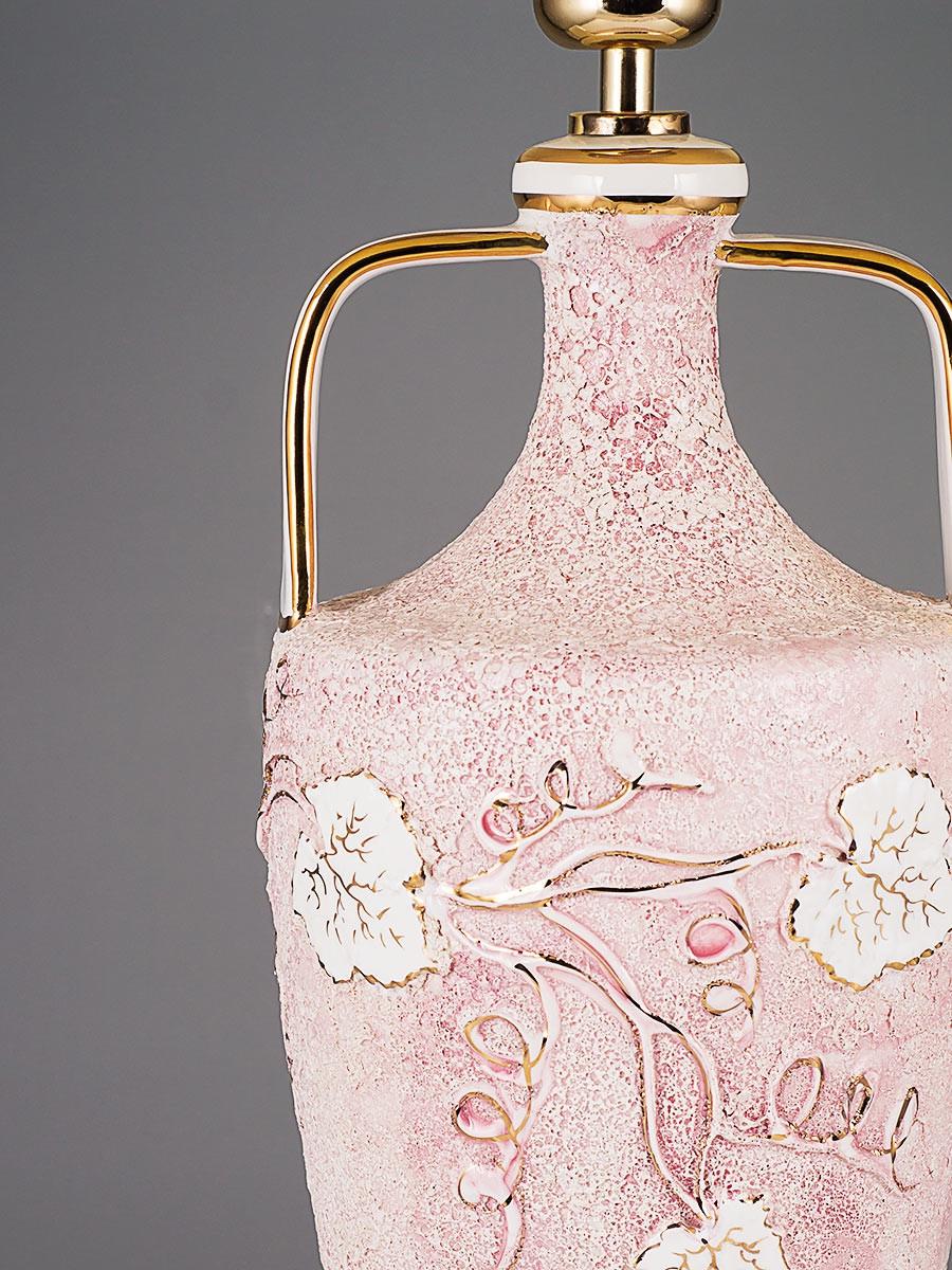 364523 tischlampe handgefertigt keramik i top qualit t i helios leuchten - Keramik tischleuchte ...
