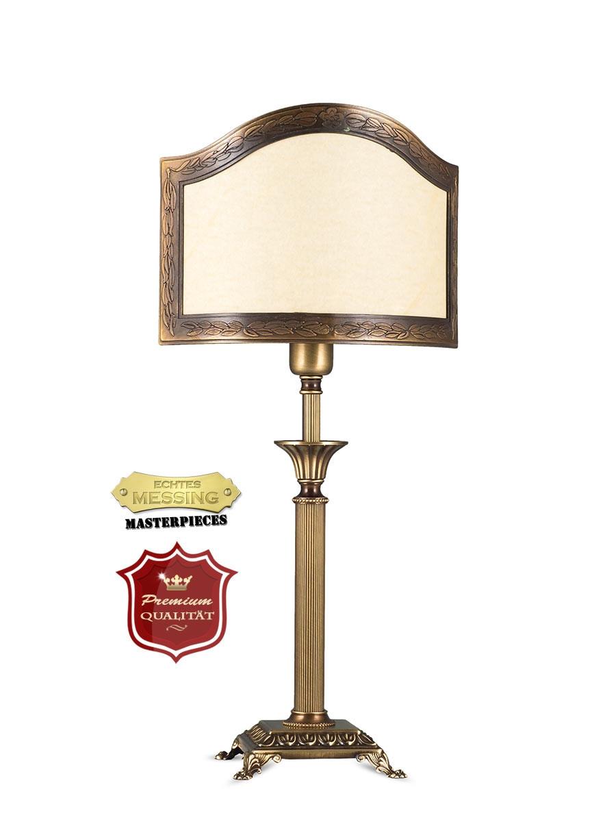 403775 3 tischlampe jugendstil echtes messing helios leuchten. Black Bedroom Furniture Sets. Home Design Ideas