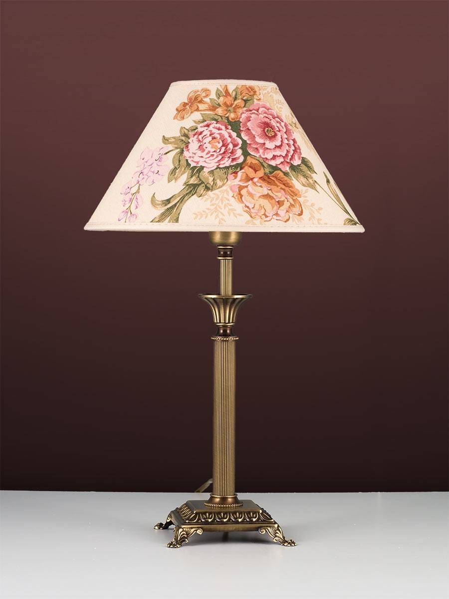 403775 4 tischleuchte jugendstil echtes messing helios leuchten. Black Bedroom Furniture Sets. Home Design Ideas