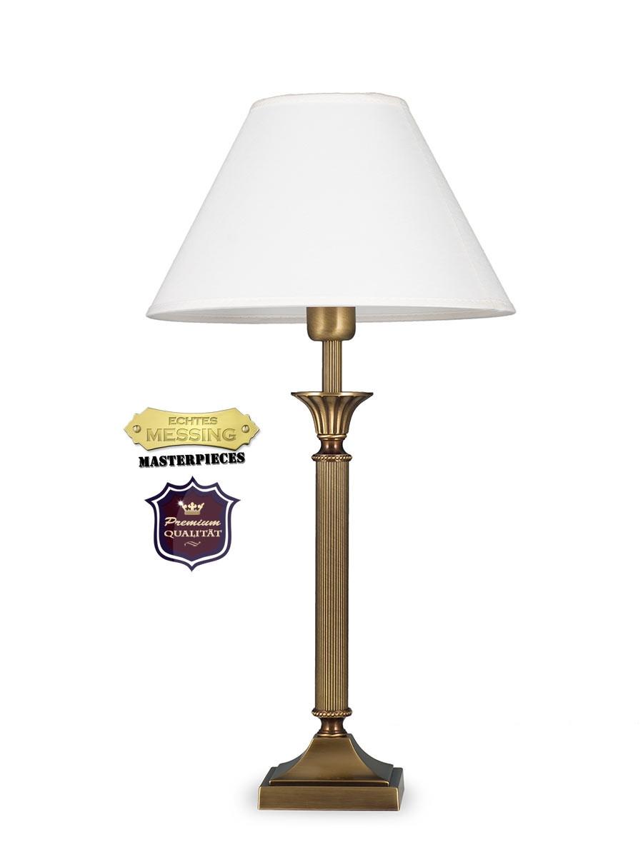 403776 5 tischlampe jugendstil echtes messing helios leuchten. Black Bedroom Furniture Sets. Home Design Ideas