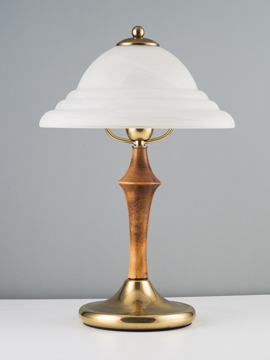 405028 tischlampe echt messing jugendstil handmade helios leuchten. Black Bedroom Furniture Sets. Home Design Ideas