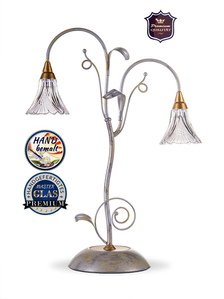 413417 extravagante tischlampe helios leuchten qualit t. Black Bedroom Furniture Sets. Home Design Ideas
