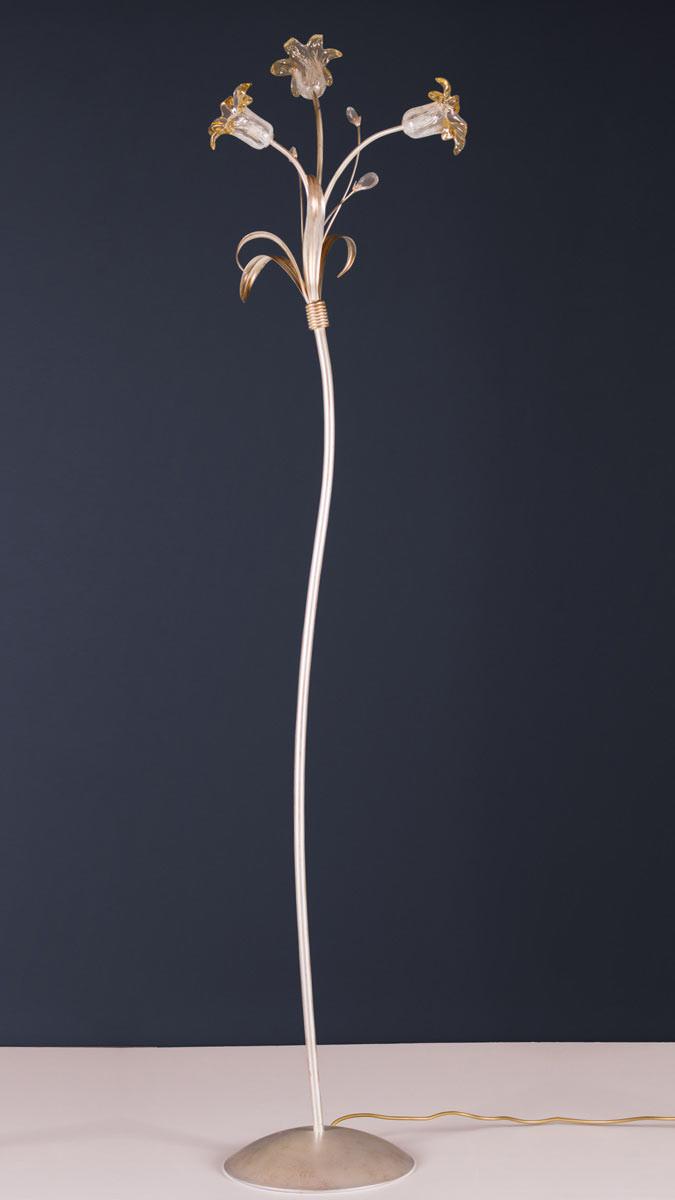 Stehleuchte 503645 Florentiner antik-silber | Serie 3.64 ''Gerda''