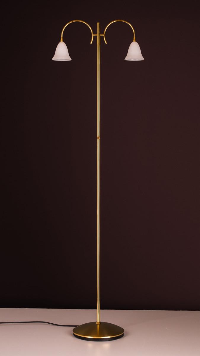Stehleuchte 504176 vergoldet Serie 4.17 ''Wien''