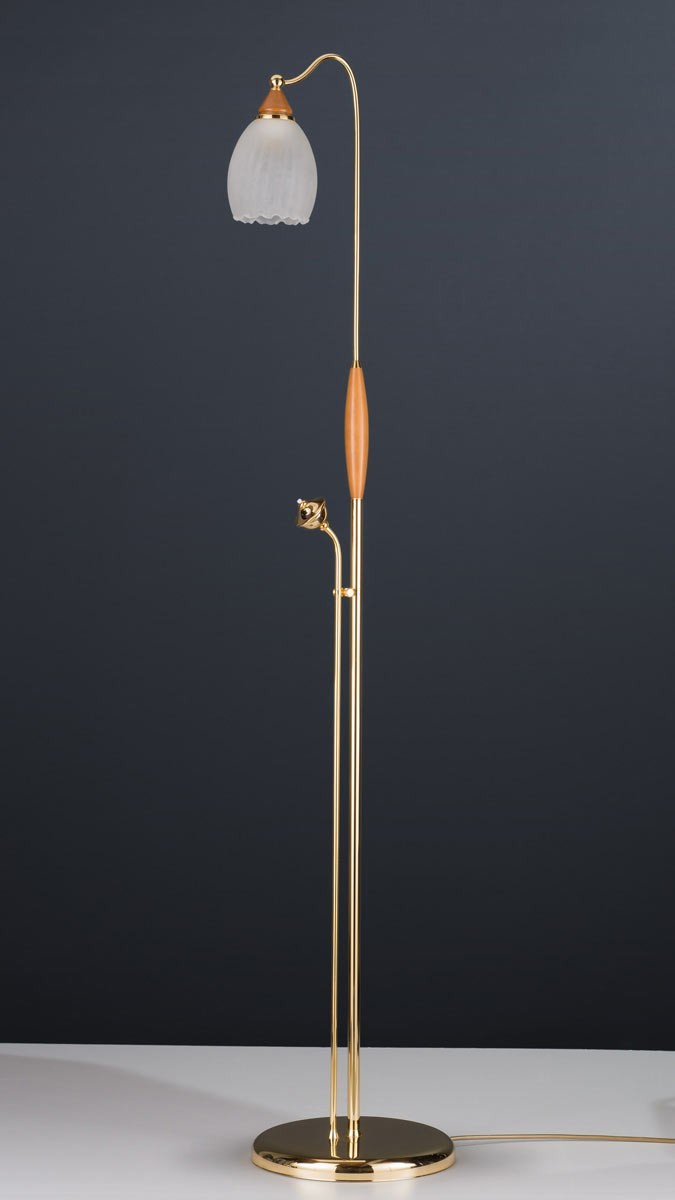 Stehleuchte 584387/KS, Messing 24k vergoldet, Serie 4.38 ''Corina''