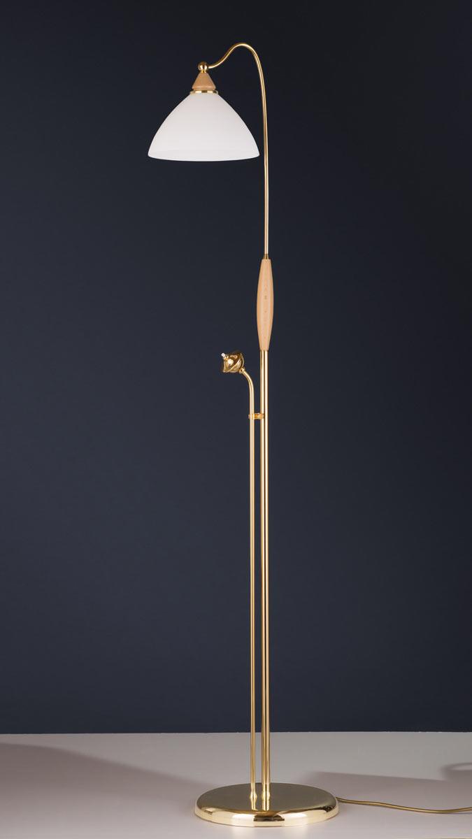 Stehleuchte 584388/ES, Messing 24k vergoldet, Serie 4.38 ''Corina''