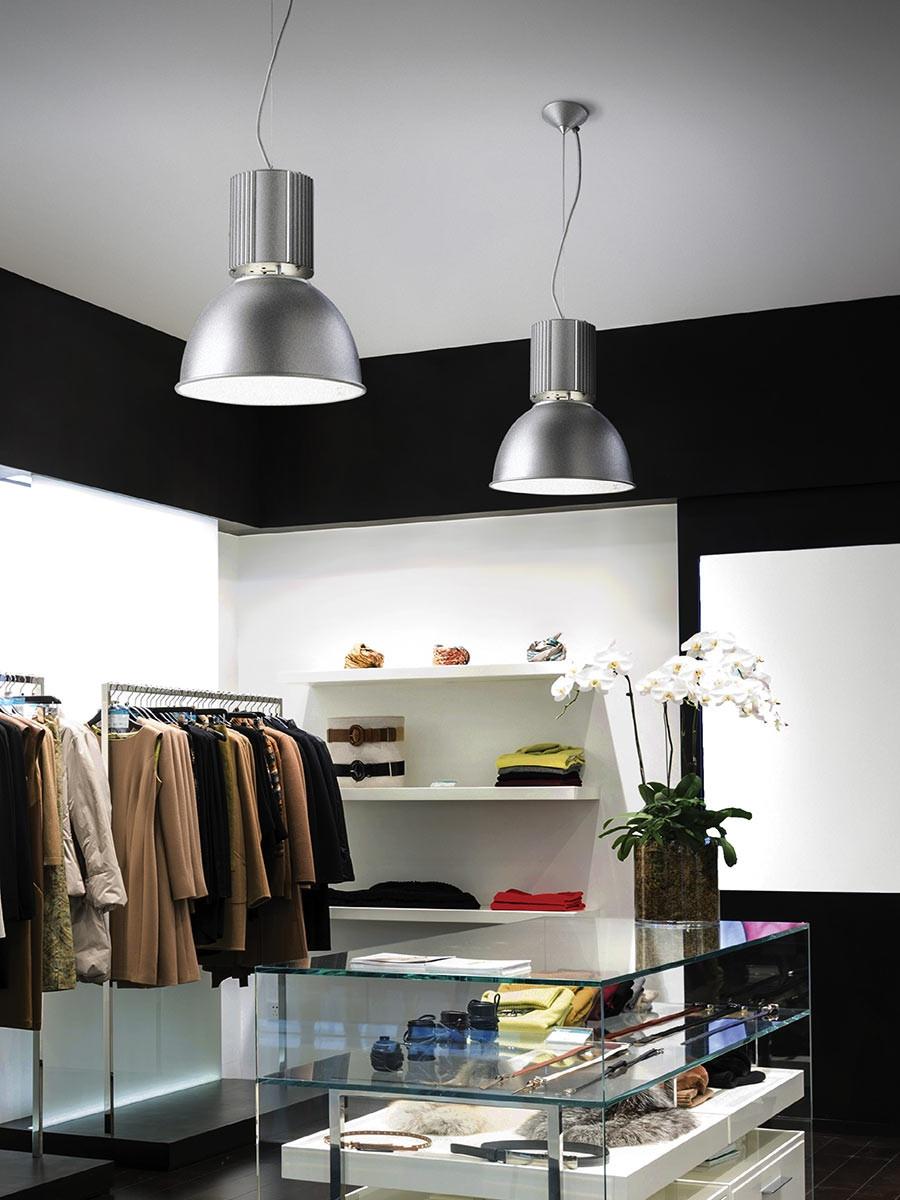 industrie pendelleuchte ideal lux hangar sp1 alluminio bestpreisgarantie. Black Bedroom Furniture Sets. Home Design Ideas