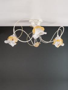 Deckenleuchte 103691 Florentiner elfenbein-farbig | Serie 3.69 ''Magnolia''
