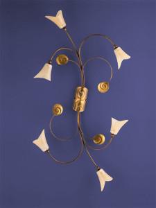 Deckenleuchte 103701 Florentiner antik-gold | Serie 3.70 ''Vineta''