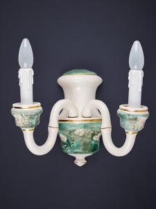 Wandleuchte 364512 Keramik handbemalt Serie 4.51 ''Piera''