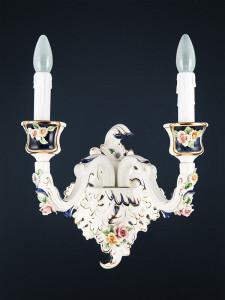 Wandleuchte 364542 Keramik handbemalt Serie 4.54 ''Ambra''