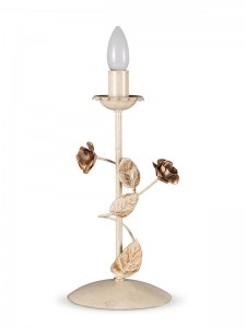 Tischleuchte 403584 Florentiner elfenbein-farbig | Serie 3.58 ''Rose''
