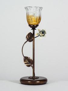 Tischleuchte 403758/1 Florentiner antik-braun | Serie 3.75 ''Loreto Maron''