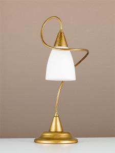 Tischleuchte 404264/1 antik-gold | Serie 4.26 ''Lilly''