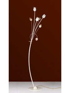 Stehleuchte 503677 Florentiner weiss-gold | Serie 3.67 ''Ivory''