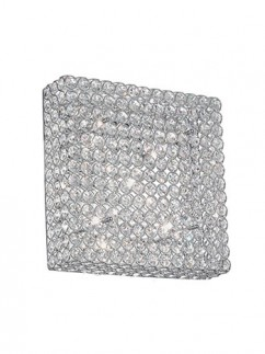 Deckenleuchte Admiral PL6 Chrom | Echtkristall