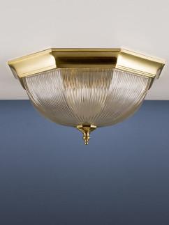1061910 klassische Deckenlampe messing