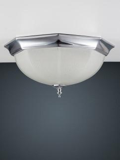 106199 klassische Deckenlampe chrom