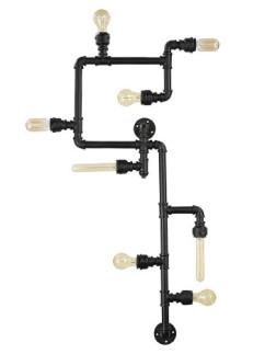Deckenleuchte Plumber PL8 Industrie-Stile