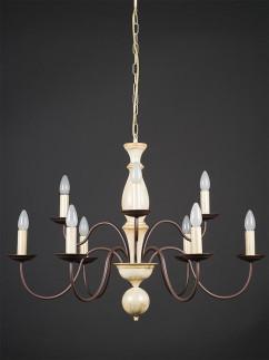 Pendelleuchte 203683 Landhaus antik-gold | Serie 3.68 ''Castello''
