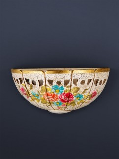 Wandleuchte 377014 Keramik handbemalt Serie 7.01 ''Sommertraum''