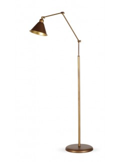 504074 1-flammige Stehlampe Industrie-Design