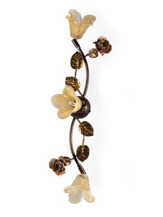 Deckenleuchte 103142 Florentiner-Stil antik-braun | Serie 3.14 ''La Rosa''
