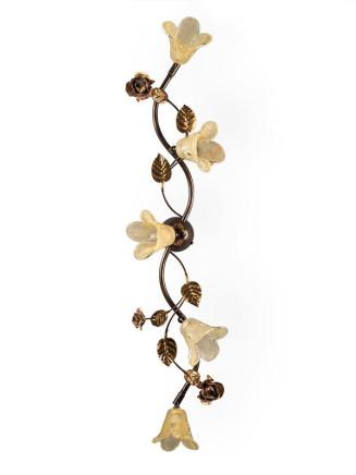 Deckenleuchte 104144 Florentine-Stil antik-braun | Serie 3.14 ''La Rosa''