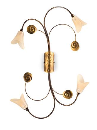 Deckenleuchte 103702 Florentiner antik-gold | Serie 3.70 ''Vineta''