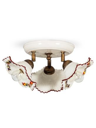 Deckenleuchte 107152 Keramik bunt dekoriert Serie 7.15 ''Früchtchen''