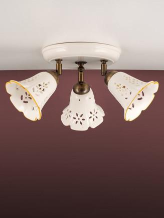 Deckenleuchte 107173 Keramik weiss Serie 7.17 ''Spot Ceramica''