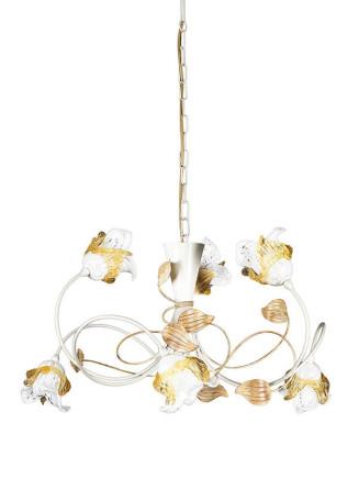 Pendelleuchte 203693 Florentiner elfenbein-farbig Serie 3.69 ''Magnolia''