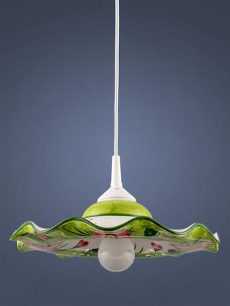 Pendelleuchte 207051 Keramik Margerite rosa Serie 7.05 ''Flowers''