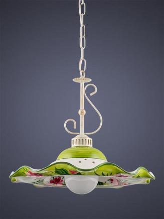 Pendelleuchte 207052 Keramik Margerite rosa Serie 7.05 ''Flowers''