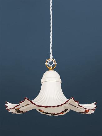 Pendelleuchte 207153 Keramik bunt dekoriert Serie 7.15 ''Früchtchen''