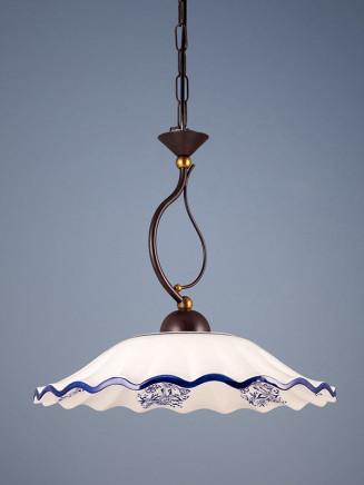 Pendelleuchte 207183 Keramik weiss - blau Serie 7.18 ''Bella Casa''