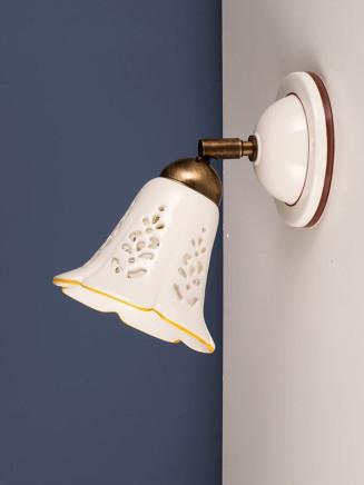 Wandleuchte 307174 Keramik weiss Serie 7.17 ''Spot Ceramica''