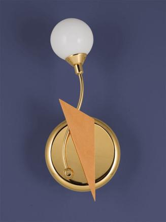 Wandleuchte 384438 vergoldet Serie 4.43 ''Saturn''