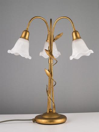 Tischleuchte 403284 Florentiner antik-gold | Serie 3.28 ''Bernadett''