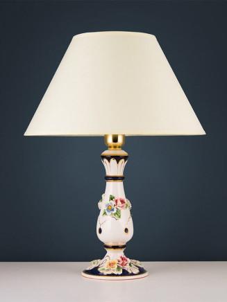 Tischleuchte 464543 Keramik handbemalt Serie 4.54 ''Ambra''