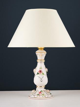 Tischleuchte 464554 Keramik handbemalt Serie 4.55 ''Sabrina''